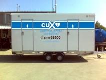 Sanitärwagen