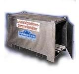 Leuchstoffröhrenbehälter